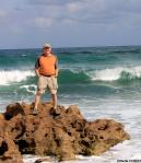Howard at the Beach