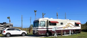 Our Jonathan Dickinson State Park camp site! Hobe Sound, FL