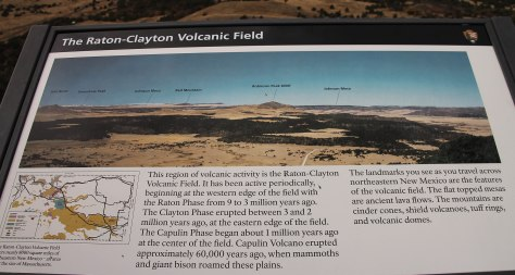 History of Capulin Volcano