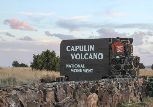 Entering the Volcano National Park