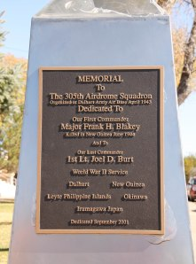 Memorial to 305th Airdrome Squadron