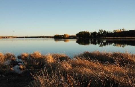 Lake Rita Blanca at sunset (another view)