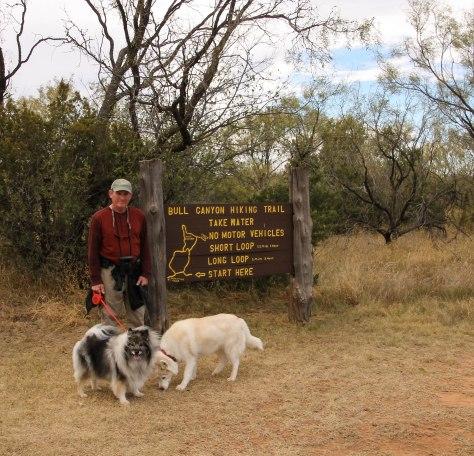 Bull Canyon Trail Head