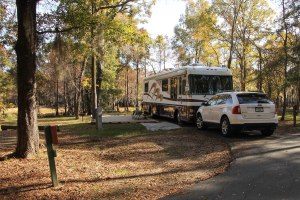 Lake Bistineau State Park - near Shreveport, Louisiana (with our very own private deck).