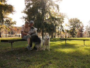 """The """"pack"""" at Lake Bistineau State Park"""
