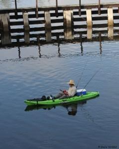 Trailing Fishing Lines