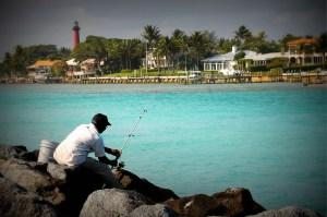Fishing (photo was stylized)