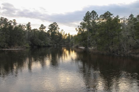 Sunset on the Blackwater River