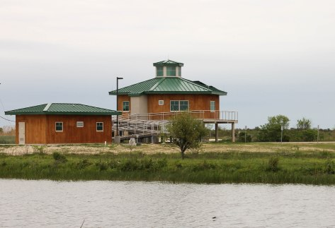 Anahuac National Wildlife Refuge. Their new Welcome Center