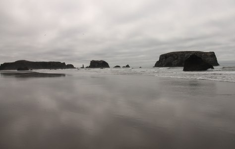 A Cloudy Day at Face Rock