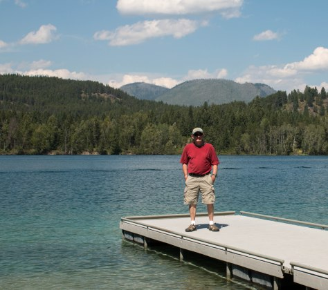 Howard at Five Lake, West Glacier, MT