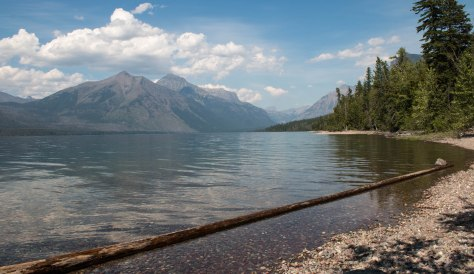 Lake McDonald in Glacier
