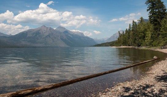 Lake McDonald in Glacier