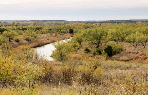 Pease River in Copper Breaks State Park
