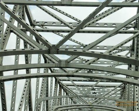 Bridge over Mississippi River in Baton Rouge, LA
