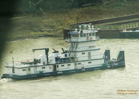 Tug Boat on the Mississippi River