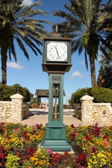 Steam Clock-Lake Sumter, The Villages, FL