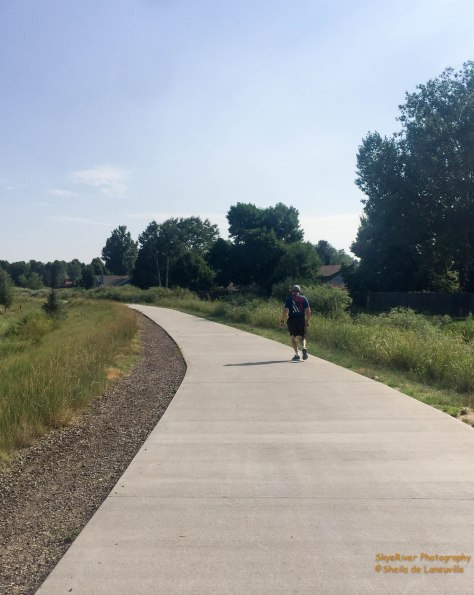 Part of Loveland Trail system going through Mehaffney Park